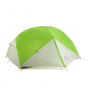 Двомісний намет Naturehike Mongar 2, зелено-білий (NH17T007-M)