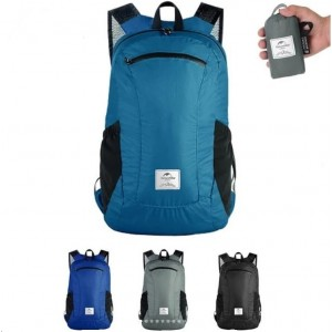 Cкладний рюкзак Naturehike 18 л, бірюзовий (NH17A012-B)