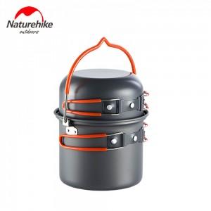 Набір посуду для походу Updated Naturehike (NH18T018-G)