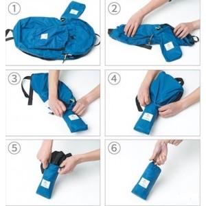Cкладний рюкзак Naturehike 25 л, синій (NH17A017-B)