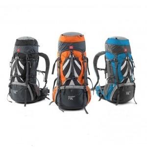 Рюкзак туристичний Naturehike 70 л + 5 л, помаранчевий (H70B070-B)