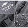 Рюкзак туристичний Naturehike 60 л + 5 л, чорний (NH19BP095)
