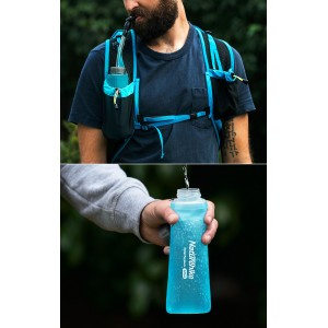 Фляга Naturehike Soft Flask 0,42 л (NH17S028-B)