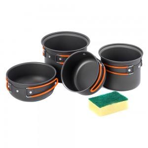 Набір посуду для походу Naturehike (NH15T401-G)