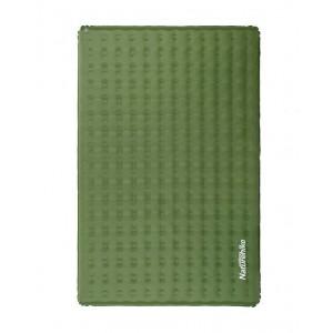 Двомісний надувний килимок Naturehike, зелений (NH19QD010)