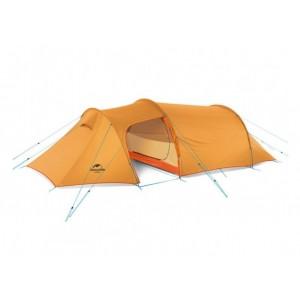 Тримісний намет Naturehike Opalus 3 tunnel tent, помаранчевий (NH17L001-L)