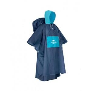 Дощовик-пончо Naturehike розмір L, синій (NH19Y036-Y)