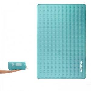 Двомісний надувний килимок Naturehike, блакитний (NH19QD010)