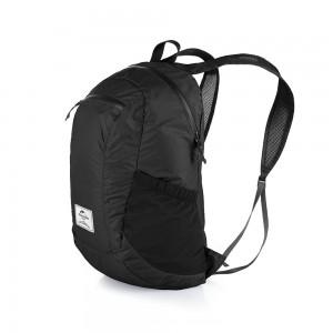 Cкладний рюкзак Naturehike 18 л, чорний (NH17A012-B)