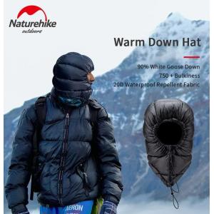 Шапка пухова Naturehike, чорна (NH20FS026)