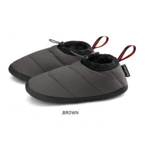 Взуття-чуні пухові Naturehike розмір M, кавові (NH20FS027)
