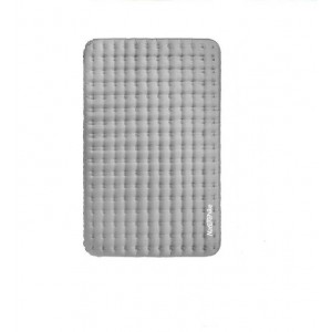 Двомісний надувний килимок Naturehike, сірий  (NH19QD010)