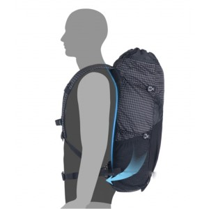 Рюкзак туристичний Naturehike 30 л + 5 л, чорний (NH19BB089)