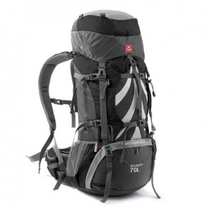 Рюкзак туристичний Naturehike 70 л + 5 л, сірий (H70B070-B)