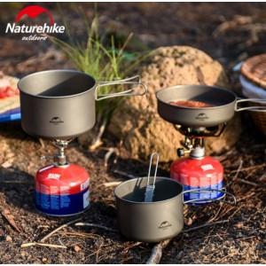 Титановий казанок Naturehike 800 мл (NH18T101-A)