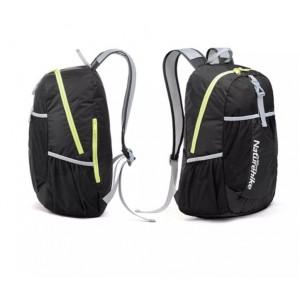 Cкладний рюкзак Naturehike 22 л, чорний (NH15A119-B)