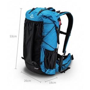 Рюкзак туристичний Naturehike 60 + 5 л Dyneema, блакитний (NH19BP095)