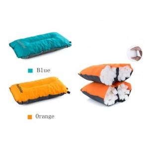 Подушка самонадувна кемпінгова Update Naturehike помаранчева (NH17A001-L)