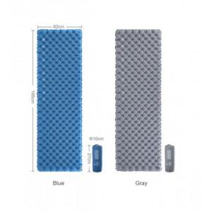 Надувний килимок Naturehike, синій (NH19QD009)