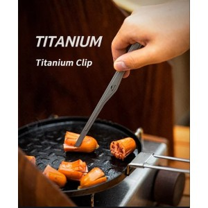 Титанові щипці для гриля Naturehike (NH20SK002)
