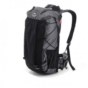 Рюкзак туристичний Naturehike 40 + 5 л чорний (NH20BB113)