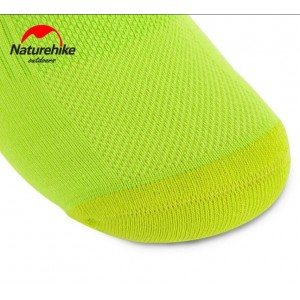 Шкарпетки Naturehike розмір 42-44, салатові (NH17A016-M)