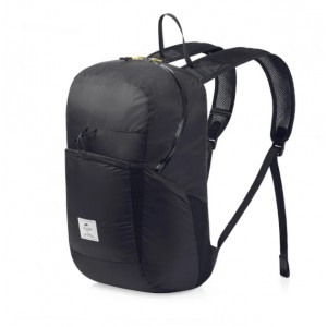 Cкладний рюкзак Naturehike 25 л чорний (NH17A017-B)