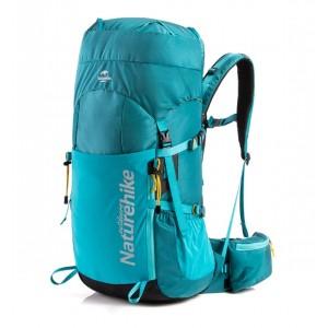 Рюкзак трекінговий Naturehike 45 л, блакитний (NH18Y045-Q)
