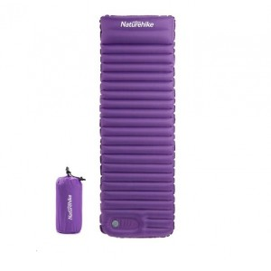 Надувний килимок Naturehike, фіолетовий (NH18Q001-D)