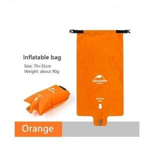 Подушка/гермомішок/насос для надування килимка Naturehike, помаранчева (NH19Q033-D)